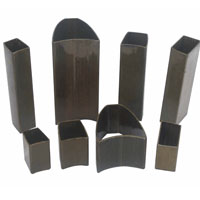 buy Outside round inside hexagonal seamless steel tubes